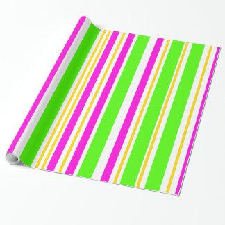 Fun Stripes Wrapping Paper