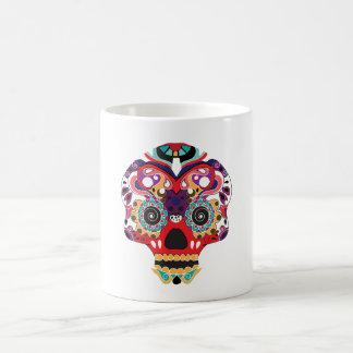 Fun Sugar Skull Colorful Mug
