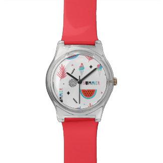 Fun Summer Elements Pattern Watches