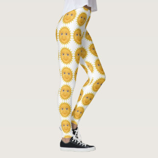 Fun Sun Pattern Leggings