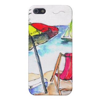 Fun Sunny Beach i iPhone 5/5S Covers