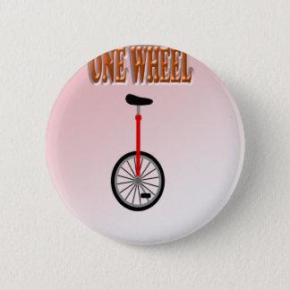 fun sweet one wheel 2 inch round button