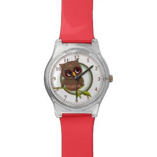 Fun Tartan / Plaid Owl #Watch #Accessory Watch