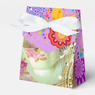 FUN TEA PARTY/TABLE TOP DECORATION FAVOR BOX