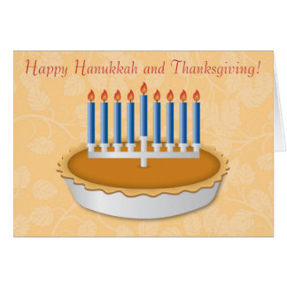 Fun Thanksgivukkah (Thanksgiving/Hanukkah) Card