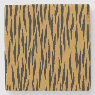 Fun Tiger Print Stone Coaster