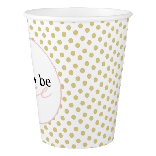 Fun to be One Paper Cup