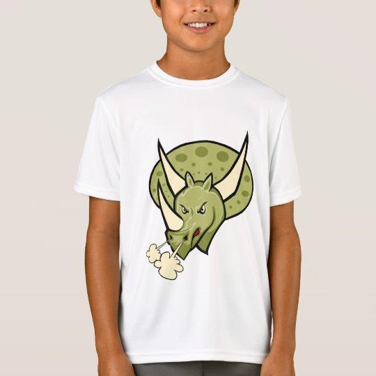 Fun Triceratops Dino T-Shirt