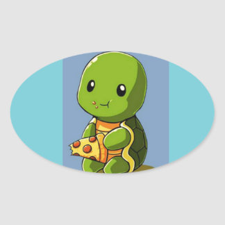 fun turtle sticker