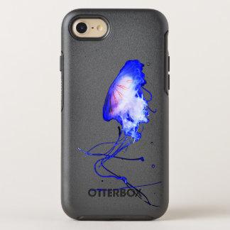 Fun Underwater Blue Ocean Jellyfish Custom OtterBox Symmetry iPhone 8/7 Case
