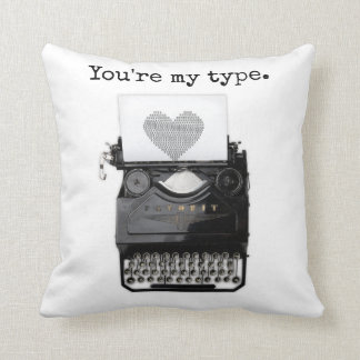 Fun Valentine's Day | You're My Type Throw Pillow