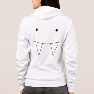 Fun Vampire Teeth Design Hoodie
