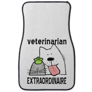 Fun Veterinarian Extraordinaire Car Mat