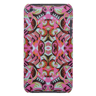 Fun Vintage Art Deco - Lots of Pink Barely There iPod Case