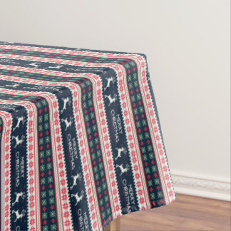 Fun Vintage, Christmas  Sweater Pattern, Tablecloth