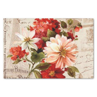 Fun Vintage floral any purpose party tissue Tissue Paper