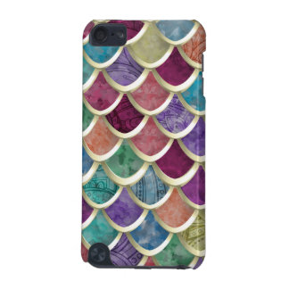 Fun Watercolor  Fish-scale pattern iPod Touch (5th Generation) Cover