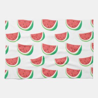 Fun Watermelon Pattern Kitchen Towel