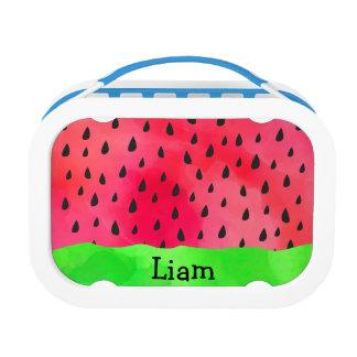 Fun Watermelon Seed Skin Fruit Name Lunchbox