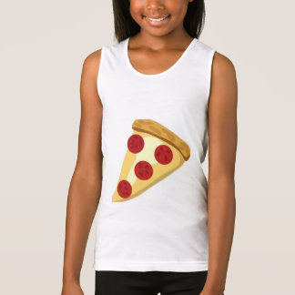 fun white pizza tank