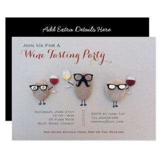 Fun Wine Tasting Party Invitations Rock Customized