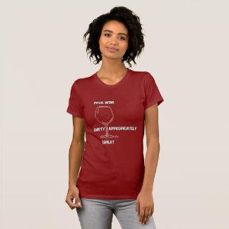 Fun Wine Tee Shirt