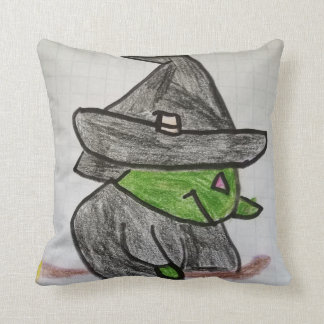 Fun Witch Throw Pillow