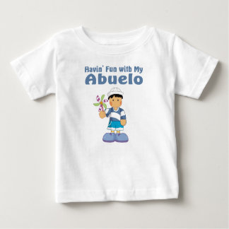 Fun with Abuelo Baby T-Shirt