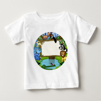 Fun with animals baby T-Shirt