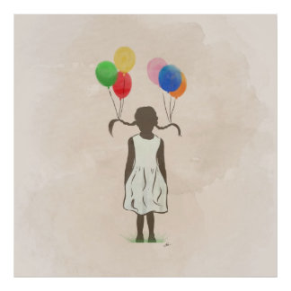 Fun With Balloons Poster