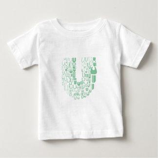 Fun with Fonts U Baby T-Shirt