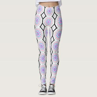 Fun with kaleidoscopes leggings