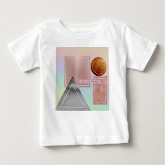 Fun with shapes,metallic,gold,rose gold,silver,ult baby T-Shirt