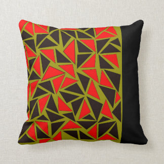 Fun with Triangles Throw Pillow