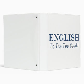 Fun Wordplay 1 inch Binder