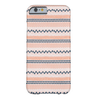 Fun Zig Zag Pattern Barely There iPhone 6 Case