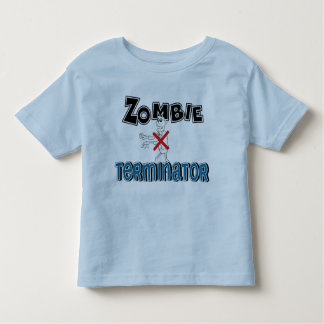 Fun Zombie Terminator Kids Toddler T-shirt