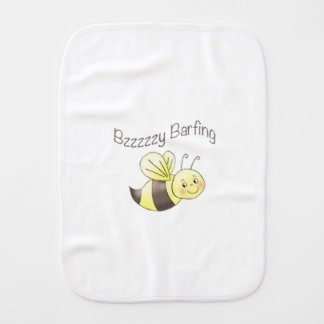 FunBugs Bee Burp Cloth