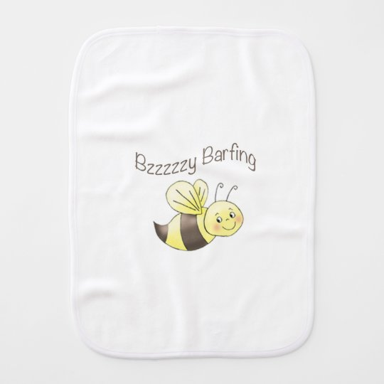 FunBugs Bee Burp Cloth