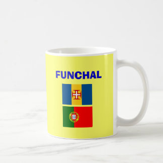 Funchal FNC Madeira Airport Mug