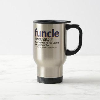 Funcle definition travel mug