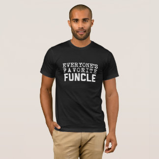 Funcle The Fun Uncle Family Definition Joke Shirt