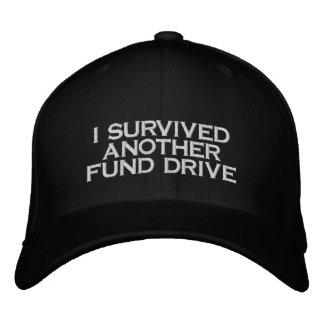 fund drive baseball cap