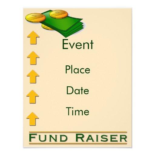 Fund Raiser Custom Invitation
