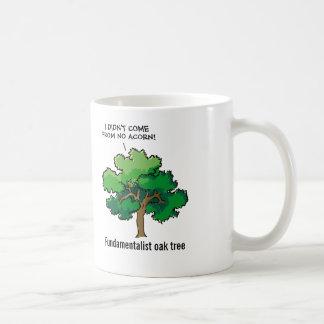 Fundamentalist Oak Tree Cartoon Coffee Mug
