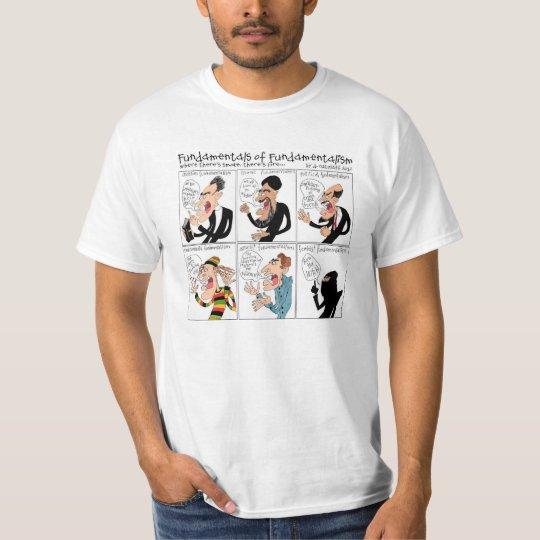 Fundamentals of Fundamentalism T-shirt
