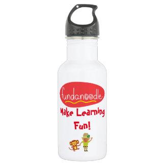 Fundanoodle 18 oz Water Bottle
