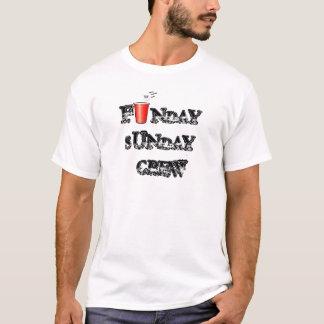 FUNDAY SUNDAY CREW T-SHIRT, F   NDAYSUNDAY CREW T-Shirt