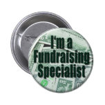 Fundraising Pinback Buttons