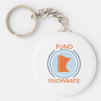 fundsnowbate Circle Logo Keychain